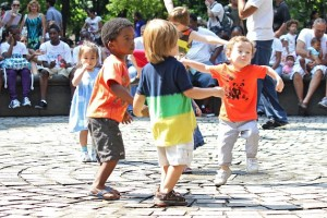 kids dancing Leslie Zaslower