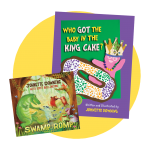 Swamp Romp CD and KIng Cake book